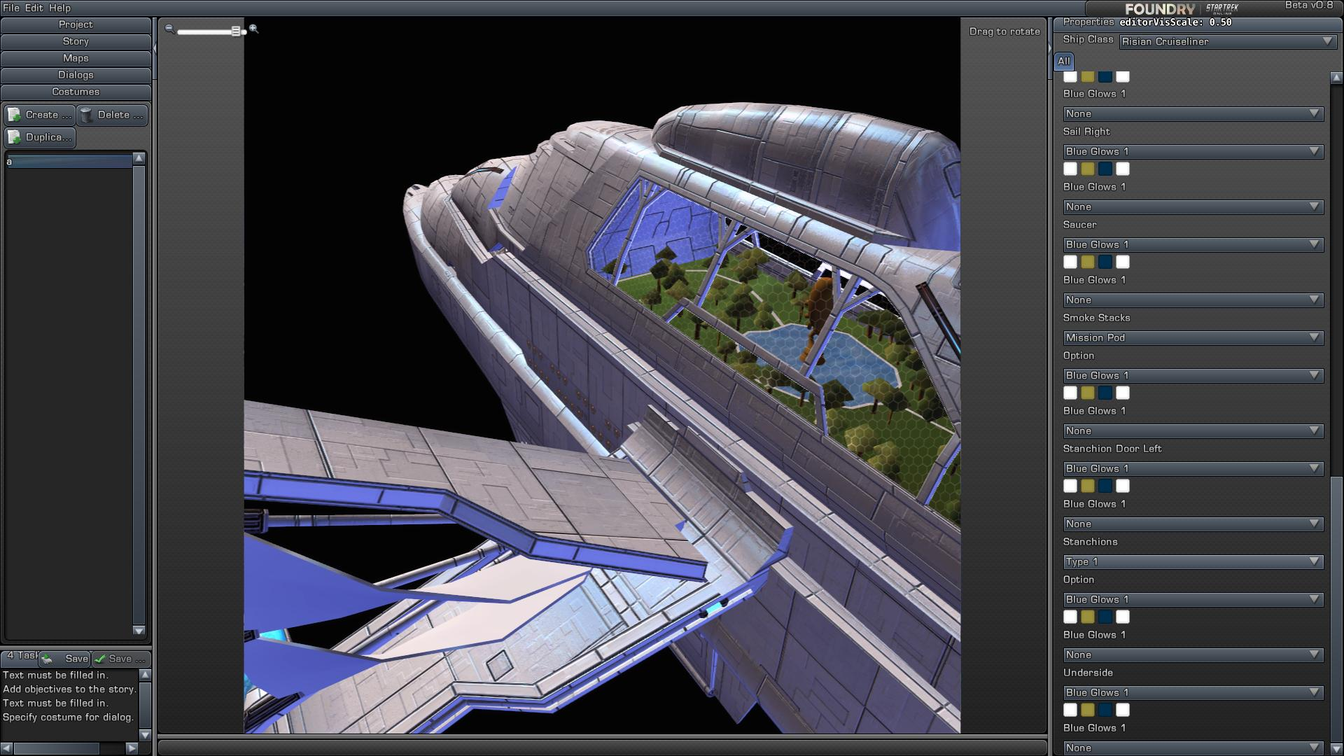 Star Trek Online Risan Cruise Liner Star Trek Gaming