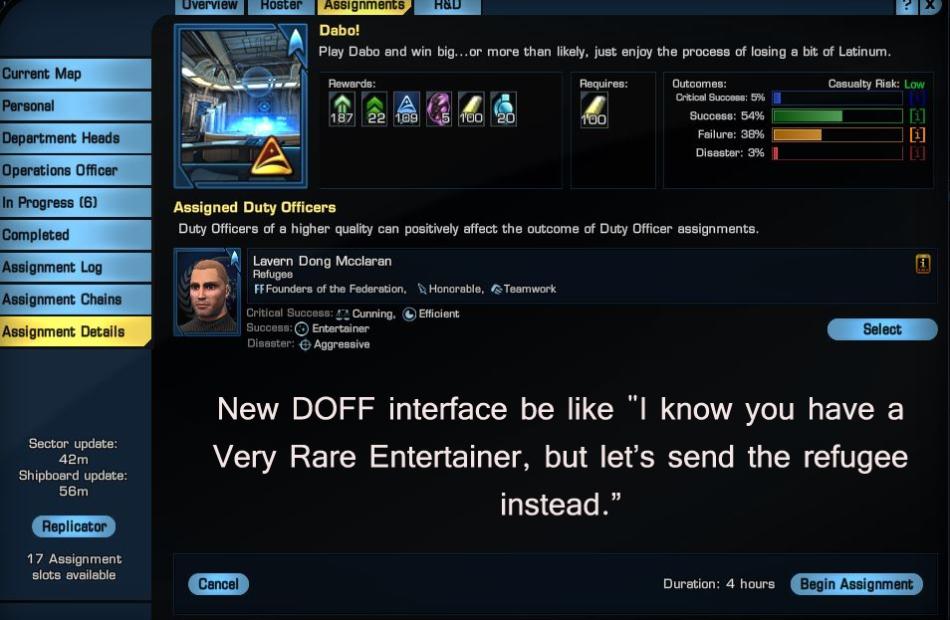 doffinterface