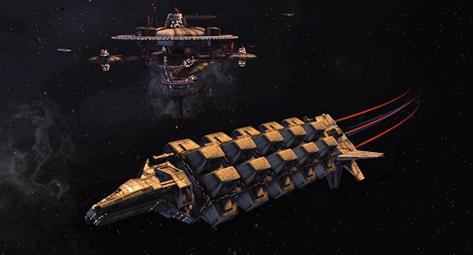Photo via http://sto.gamepedia.com/Tuffli_Class_Freighter